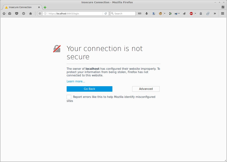 Warning: Self-signed Certificate Firefox
